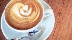 커피 한 잔을