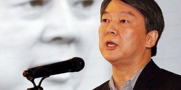 국민의당 안철수 전 상임공동대표가 7일 오전 인천에서 '한국경제 해법찾기와 공정성장론'을 주제로 강연하는