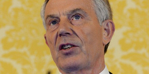 Former British Prime Minister, Tony Blair, delivers a speech following the publication of The Iraq Inquiry...