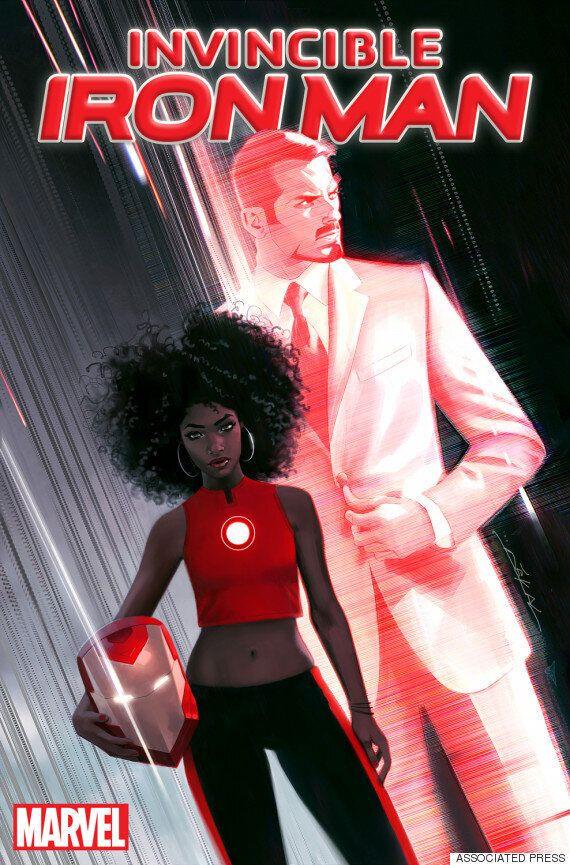 [Oh!llywood]아이언맨, 흑인 여성으로 바뀐다..토니 스타크