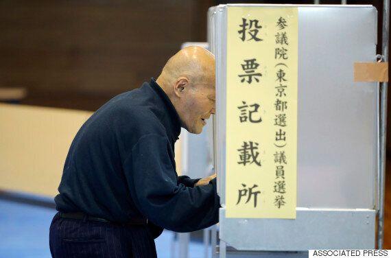 일본 참의원 선거 투표 개시...아베 개헌 발의 의석 확보