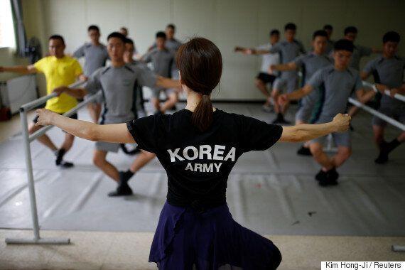 로이터가 보도한 한국 최전방 군인들의 귀여운 발레