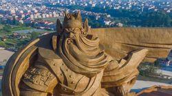 중국에 등장한 '삼국지' 관우 동상은
