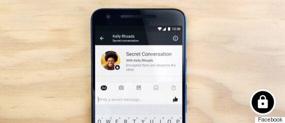 페이스북 메신저에 종단간 암호화·자동 삭제 기능