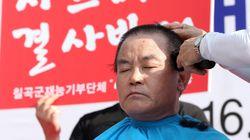 경북 칠곡군수, '사드 후보지' 항의
