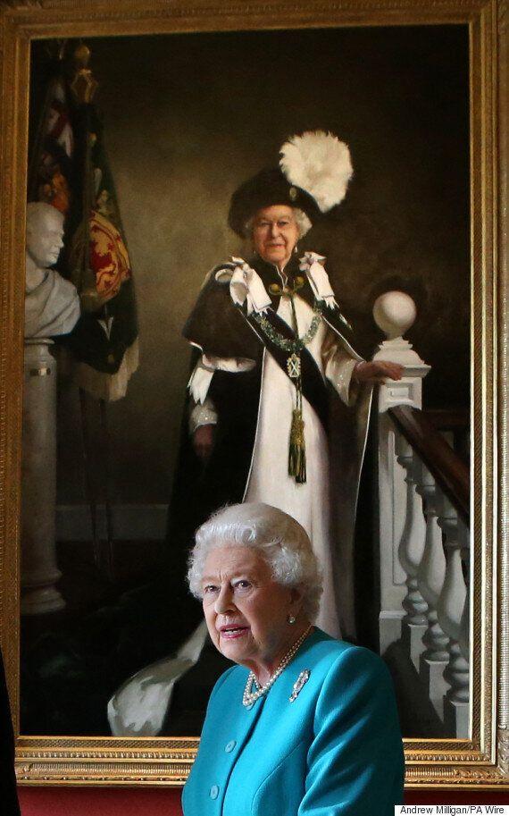 영국 엘리자베스 여왕의 90번째 생일 기념