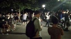 '샤미드'가 나타나자 센트럴 파크의 어른들이 좀비처럼