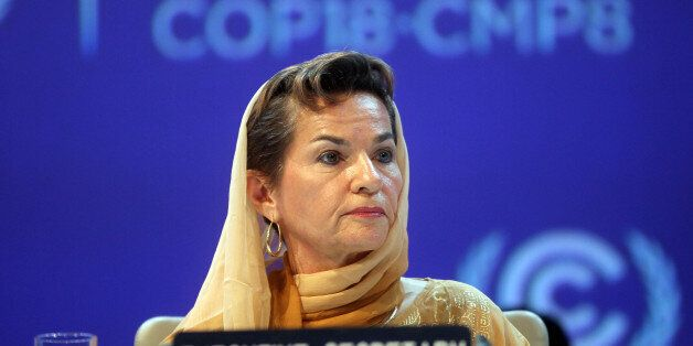 FILE - In this Monday, Nov. 26, 2012 file photo, Christiana Figueres, Executive Secretary of the United...
