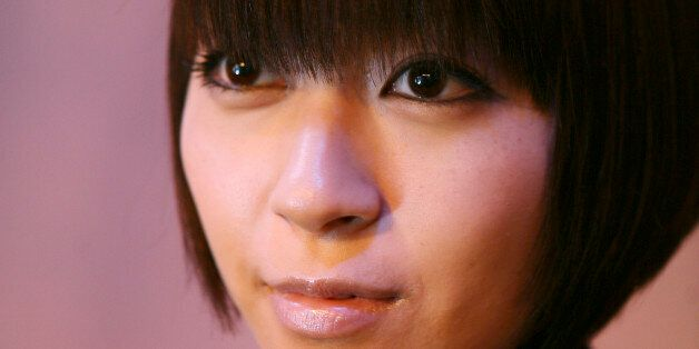 Japanese singer Hikaru Utada poses for a portrait for Reuters in New York, February 12, 2009. REUTERS/Carlo...
