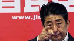 아베 총리가 박 대통령에 사드 배치 지지를
