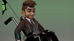 '엑스박스'에 휠체어를 탄 아바타가