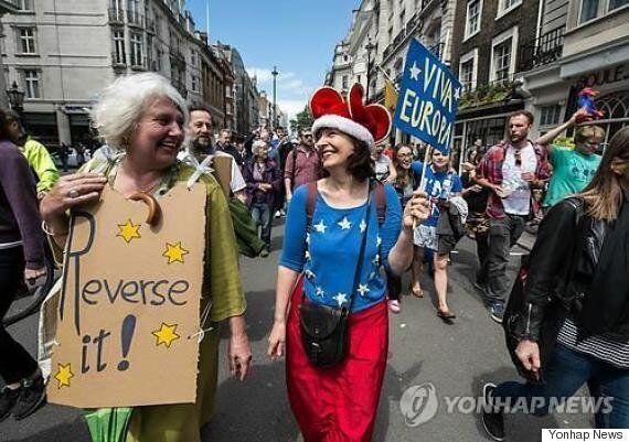 '의회 승인없는 브렉시트는 위헌' 英기업들 소송