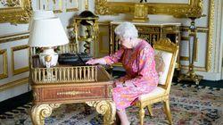 엘리자베스 여왕이 트위터로 직접 감사를