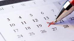 내년 달력에는 '12월 20일은 대통령 선거일'