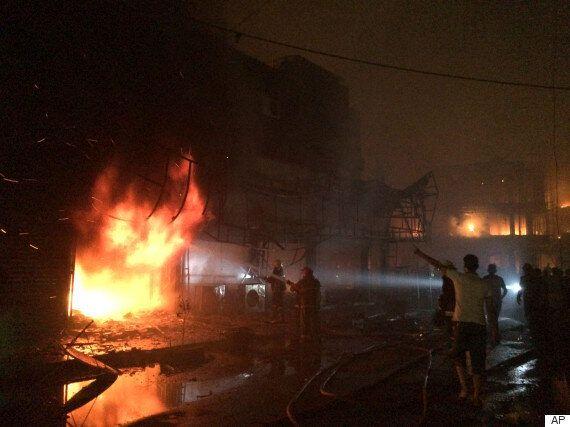 이라크 바그다드서 연쇄 폭탄 테러로 23명