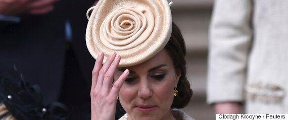 케이트 미들턴은 머리에 빵을 쓰고도 멋지다