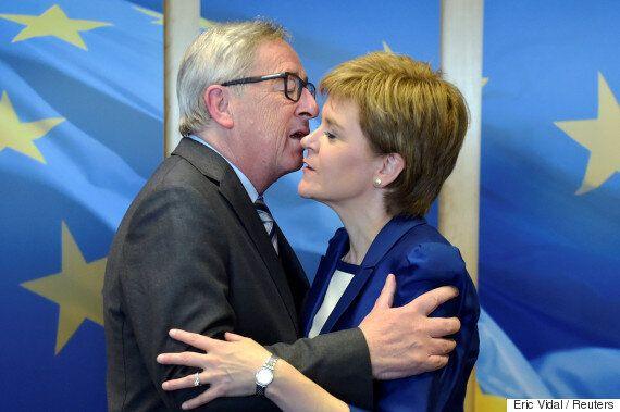 EU리더들과 만나 '잔류' 협상을 꺼낸 스코틀랜드 자치정부 수반은 빈손으로 돌아와야