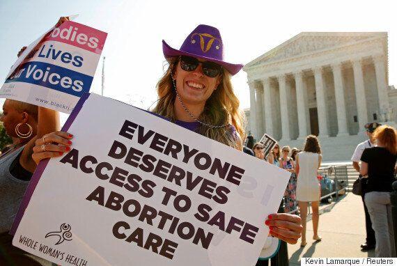 미국 연방대법원, 텍사스주 낙태금지법 위헌