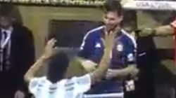 아르헨 축구의 메시아 '메시'를 영접한 한 축구