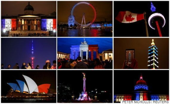 우리는 파리를 위해 기도했다.