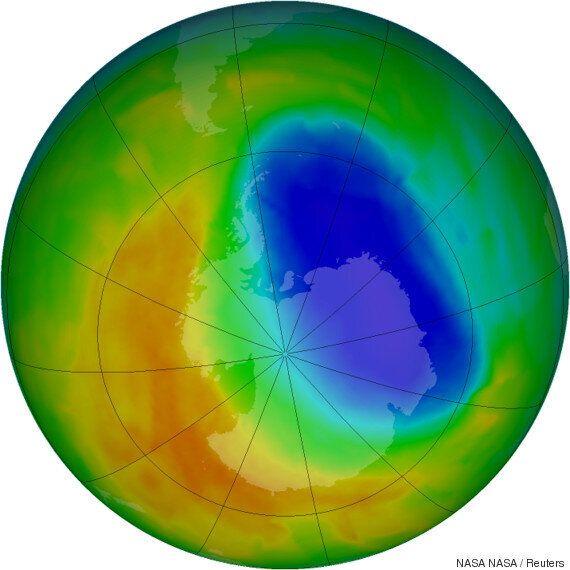 남극 오존층이 '치유'되고 있다는 증거가 처음으로