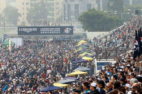 홍콩은 어떻게 '경마 천국'이
