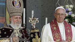교황의 '인종학살' 발언에 터키가