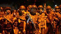 방글라데시 외교가 식당에 괴한 9명이 침입해 '무장 인질극'을 벌이고 있다(사진,