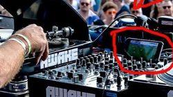 이 DJ는 유로2016 경기를 보면서 디제잉을 해서 빈축을