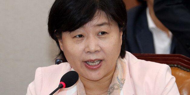 지난 20일 국회 법사위 회의에서 인사말을 하는 서영교
