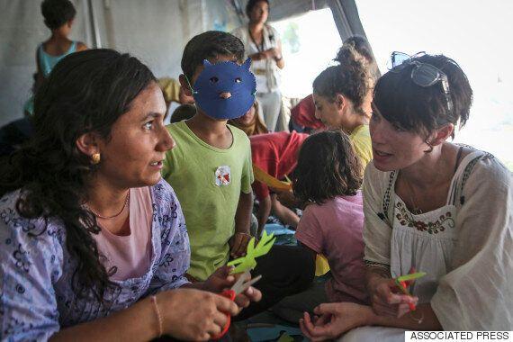 '왕좌의 게임' 배우들이 그리스 난민촌을 찾은 이유(사진,