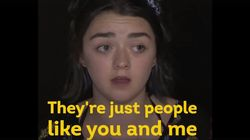 '왕좌의 게임' 배우들이 그리스 난민촌을 찾은