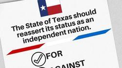 텍사스 분리주의자들이 브렉시트에 용기를