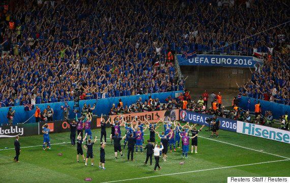 프로 축구선수가 100명도 되지 않는 아이슬란드가 유로2016에서 잉글랜드를 꺾은