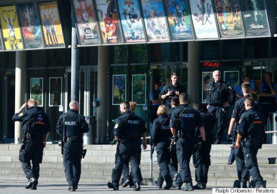 독일 남부 극장에서 총기 인질극