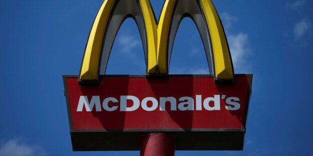 The McDonald's logo is seen in Tbilisi, Georgia, June 8, 2016. REUTERS/David