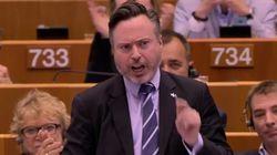 유럽의회를 기립시킨 스코틀랜드 의원의 연설