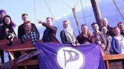 아이슬란드에 부는 '해적'의 바람 | 해적당 지지율