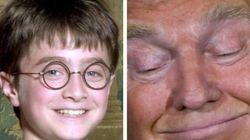 어린 해리 포터도 놀래킨 트럼프의