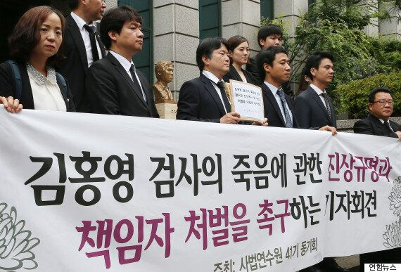 고 김홍영 검사 누나가 전하는 '부장검사의 현재