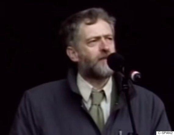 제러미 코빈의 2003년 이라크전쟁 반대 연설은 그가 늘 거기에 있었음을 보여준다