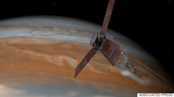 NASA 탐사선 '주노'가 목성궤도에