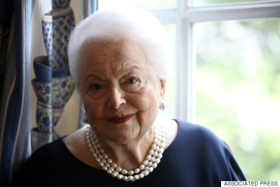 '바람과 함께 사라지다'에 출연한 배우 올리비아 드 하빌랜드가 100살이