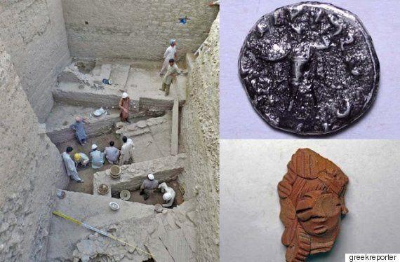 파키스탄에서 '그리스-인도'가 혼재된 도시가