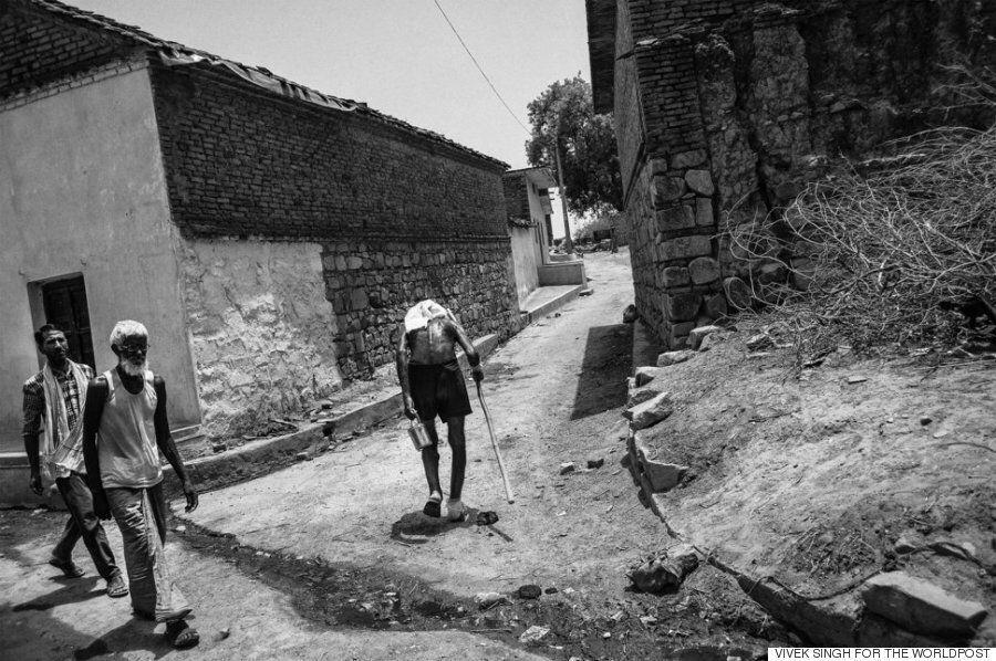 [르포] 가뭄에 신음하는 인도의 시골 : 바싹 마른 땅, 농부들의 자살, 원치 않는