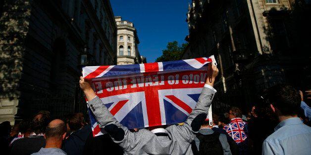 영국이 EU를 떠나기로 투표한