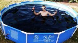 이 청년이 6천 리터짜리 콜라 수영장을 만든 어처구니없는