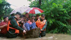 중국의 이번 홍수 피해를 생생하게 보여주는