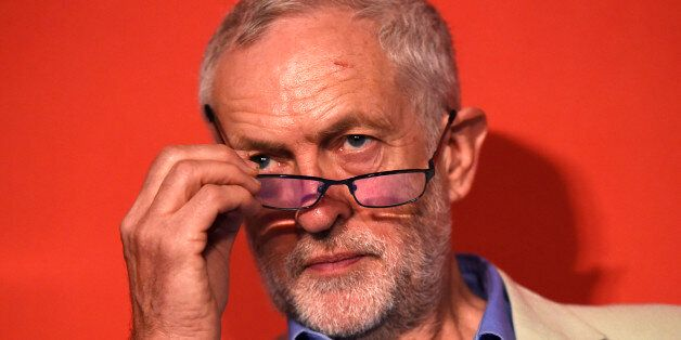 Britain's opposition Labour Party's leader Jeremy Corbyn attends an event in support of remaining in...