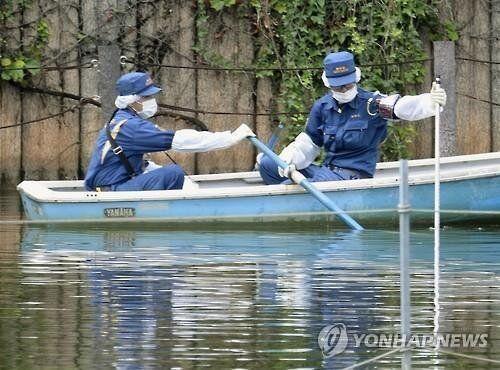 일본 도쿄 주택가 공원 연못서 토막시신